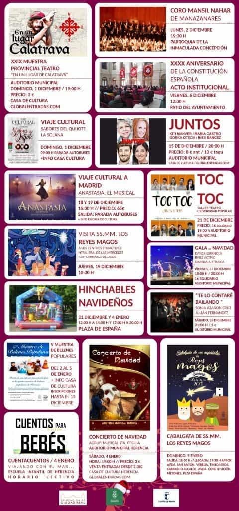 Presentada la programación para la Navidad en Herencia 6