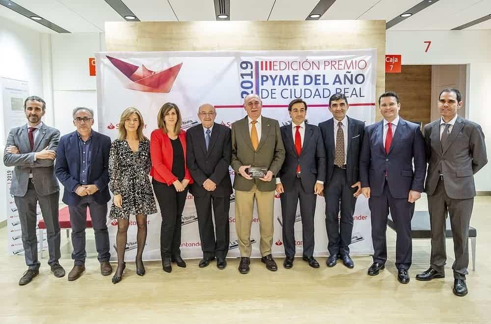 """pyme del anio 2019 ciudad real - La empresa herenciana Tecnology and Security recibe el premio """"Pyme del año 2019"""""""