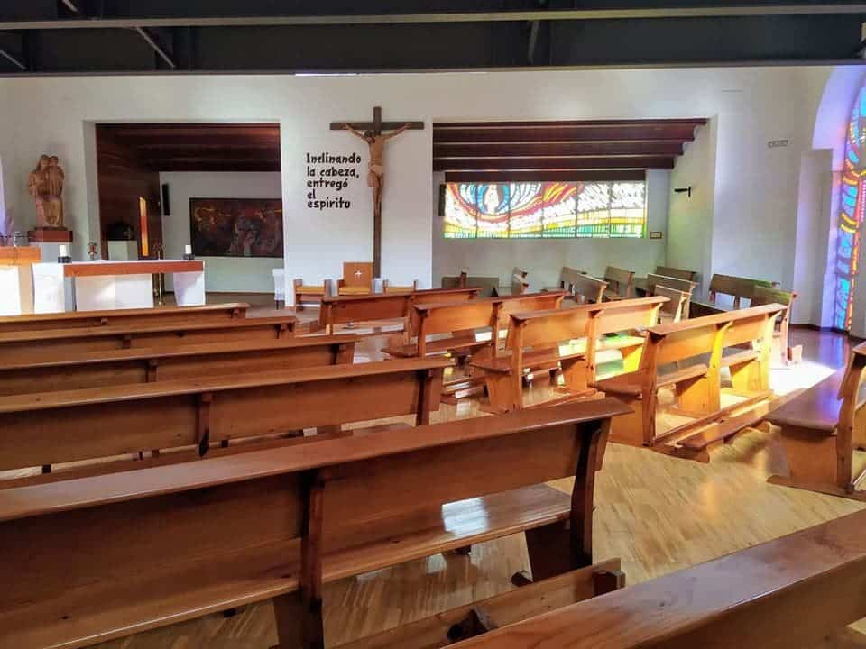 """visita casa de oracion santa maria en herencia 3 - La Casa de Oración """"Santa María"""" en Herencia recibe a las autoridades"""