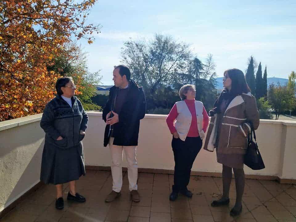 """La Casa de Oración """"Santa María"""" en Herencia recibe a las autoridades 20"""