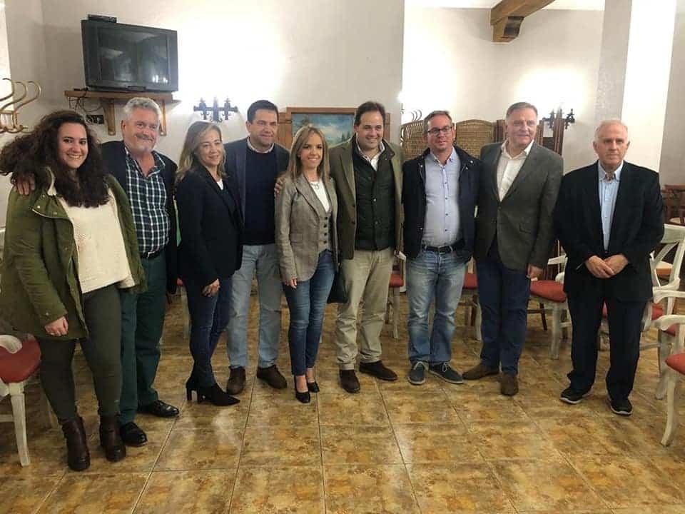 visita presidente regional pp herencia - Visita del Presidente Regional del PP, Paco Núñez, a Herencia