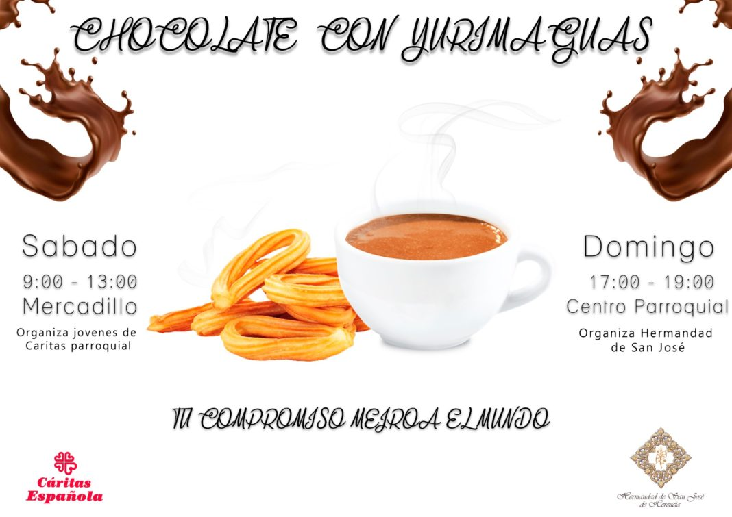 Chocolate solidario 1068x755 - Chocolates solidarios del grupo joven de Cáritas y la hermandad de San José