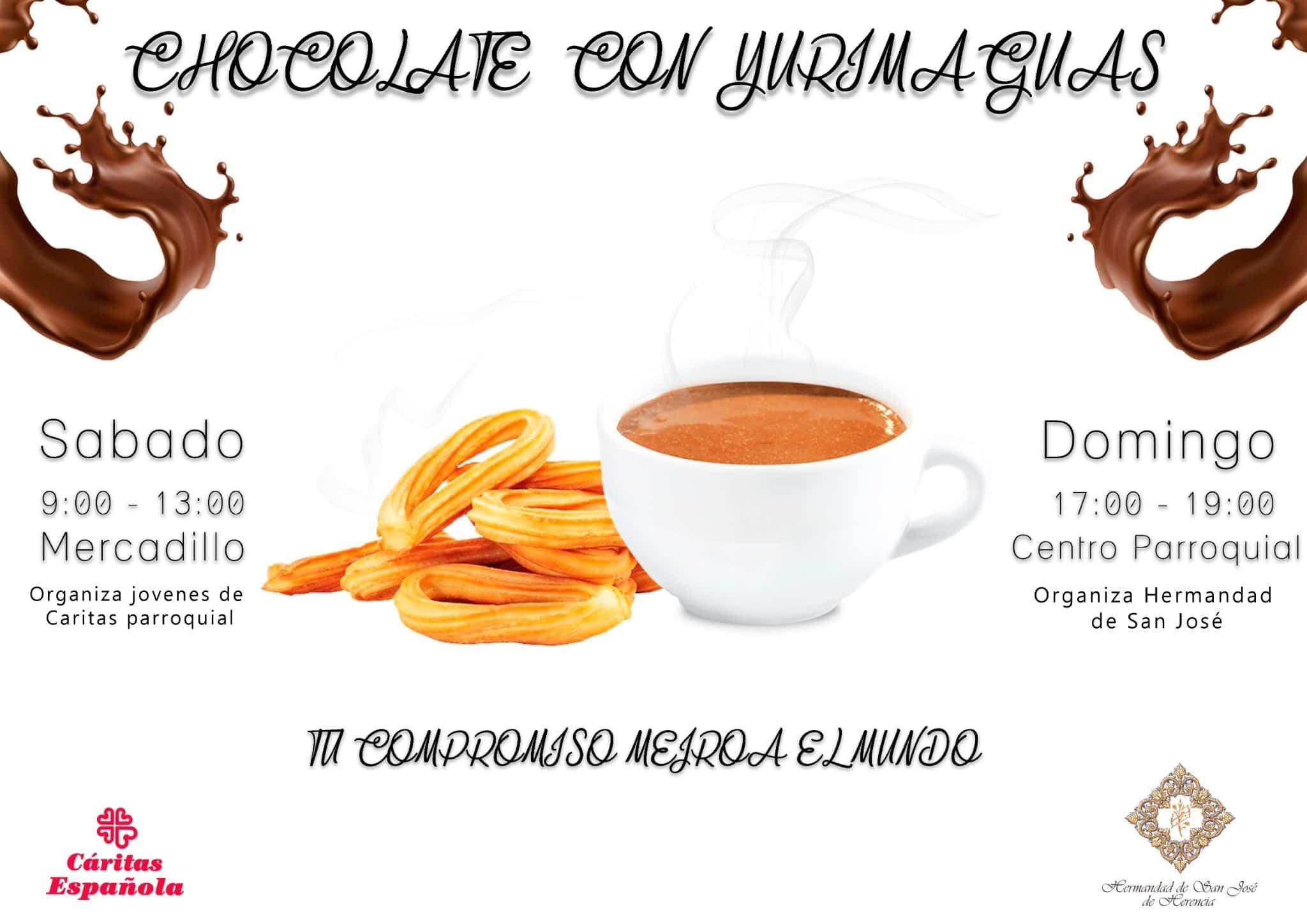 Chocolate solidario - Chocolates solidarios del grupo joven de Cáritas y la hermandad de San José