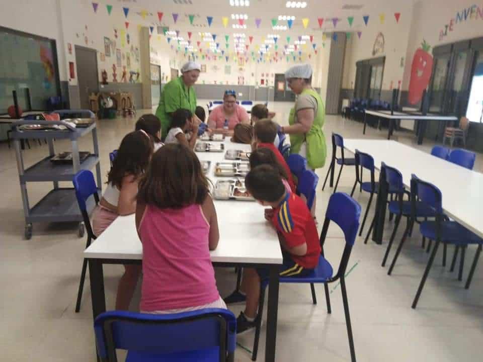 Comedor escolar Herencia - El comedor del colegio público de Herencia volverá a estar abierto en Navidad