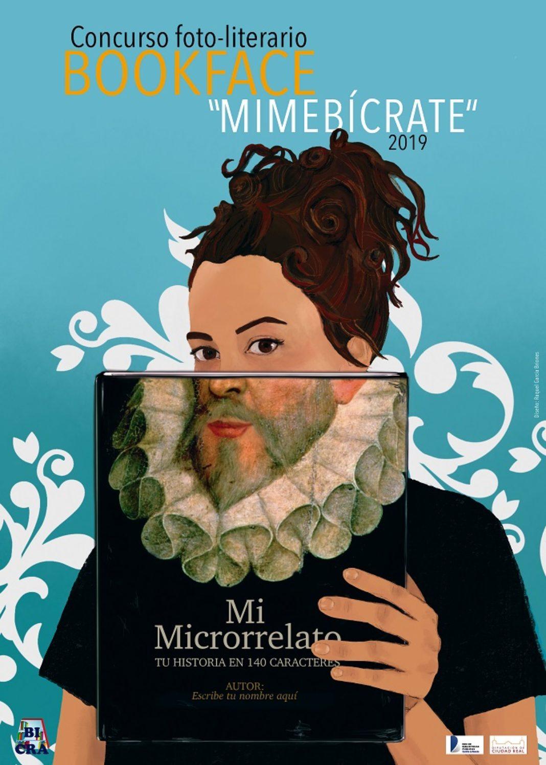 Internet CONCURSO BOOKFACE2019.Bicra  1068x1496 - La Biblioteca de Herencia se suma al fenómeno «Bookface»
