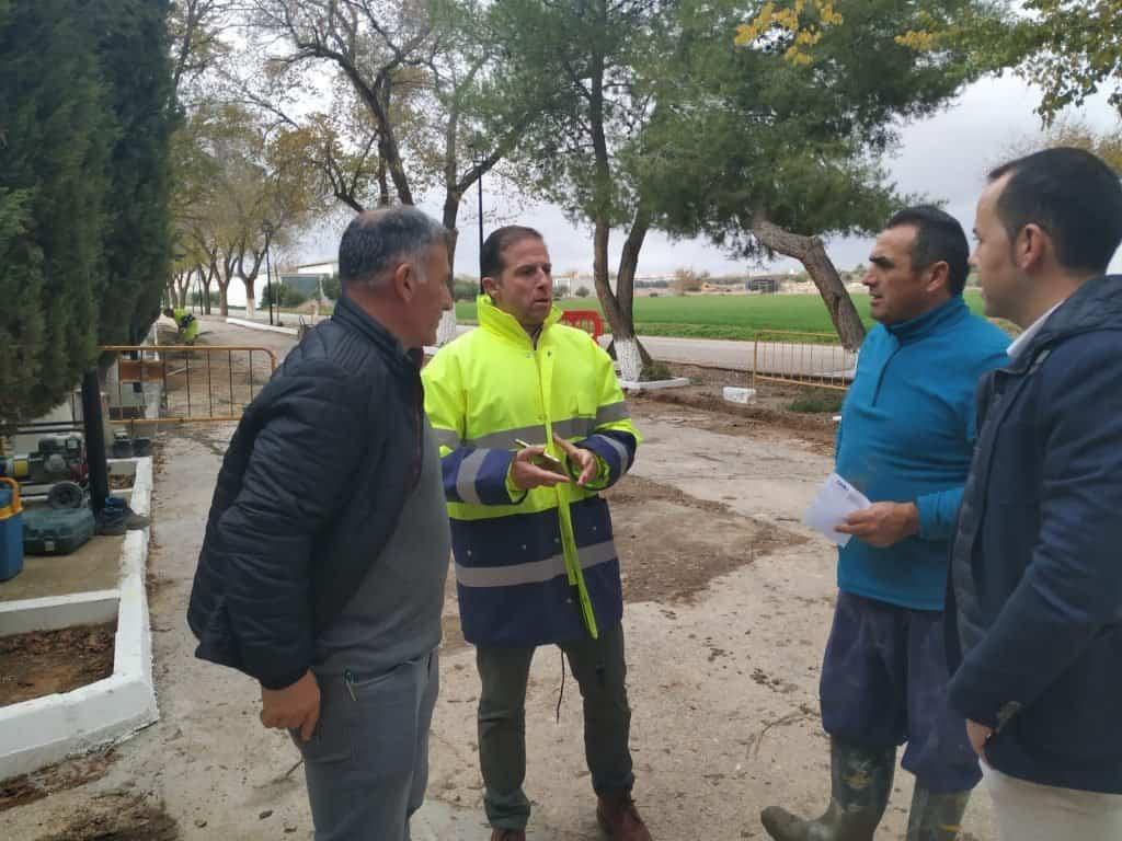 Obras en el paseo San Pedro Nolasco1 - Iniciadas las obras de mejora en el paseo de San Pedro Nolasco que conduce al cementerio