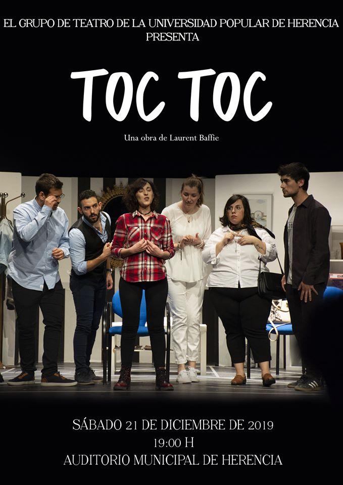 Representación solidadria de Toc Toc - El grupo de teatro de la Universidad Popular vuelve a subirse al escenario esta Navidad