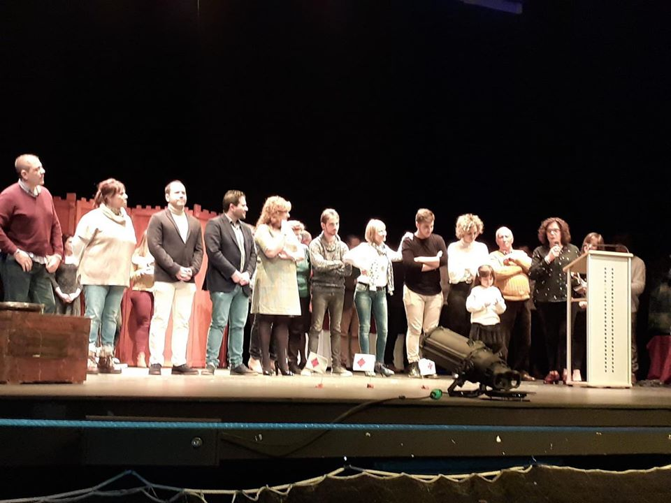 XXIX Muestra Provincial de Teatro de la Diputación - Herencia acogió la entrega de premios de la XXIX Muestra Provincial de Teatro de la Diputación