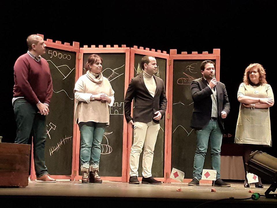 XXIX Muestra Provincial de Teatro de la Diputación2 - Herencia acogió la entrega de premios de la XXIX Muestra Provincial de Teatro de la Diputación