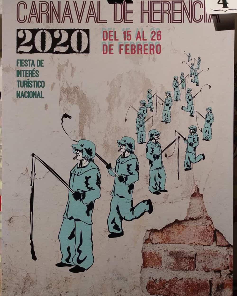 carteles carnaval 2020 herencia 10 - Conoce los carteles de Carnaval de Herencia 2020, ¿cuál te gusta más?