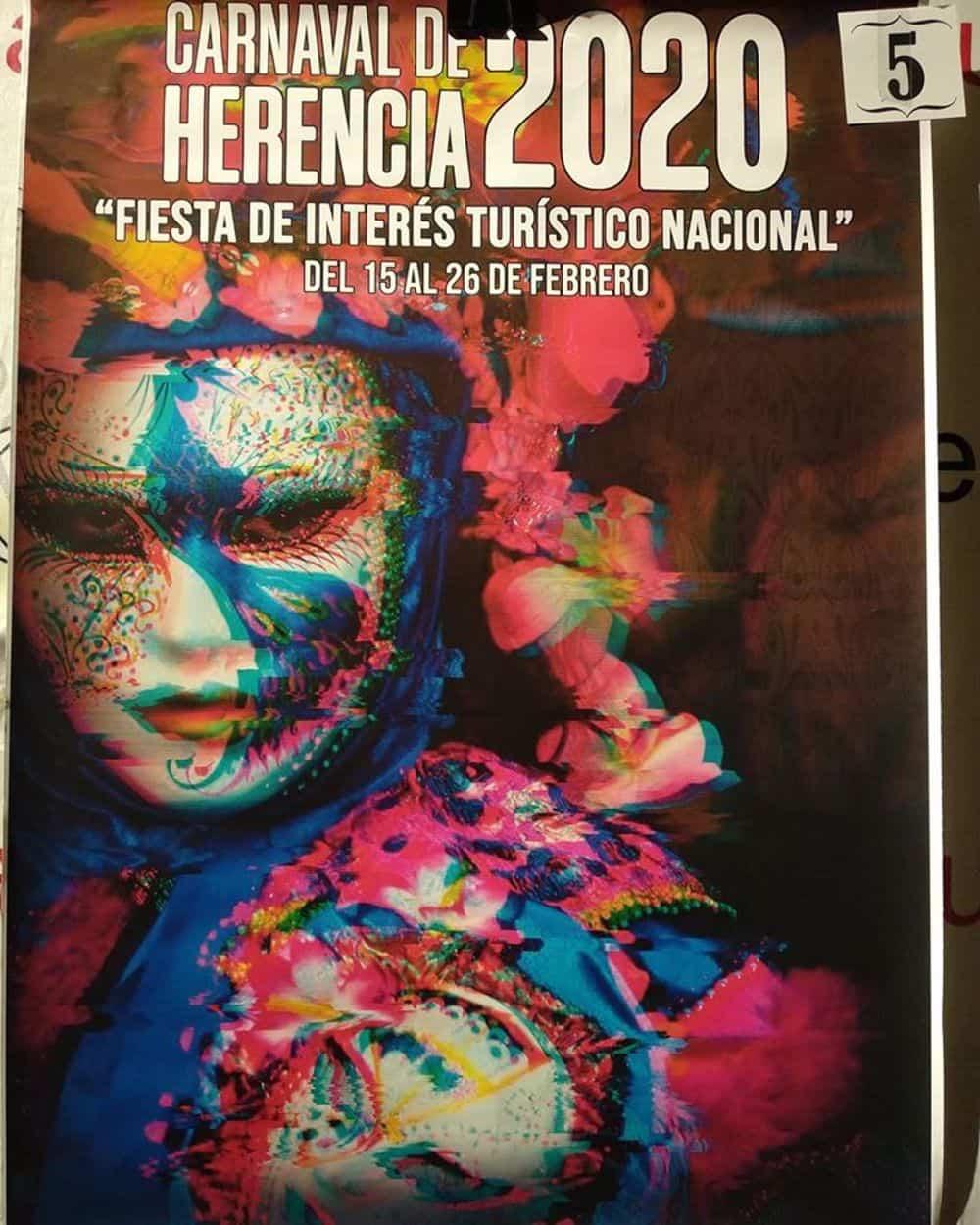 carteles carnaval 2020 herencia 11 - Conoce los carteles de Carnaval de Herencia 2020, ¿cuál te gusta más?