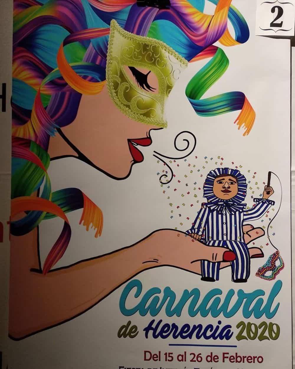 carteles carnaval 2020 herencia 5 - Conoce los carteles de Carnaval de Herencia 2020, ¿cuál te gusta más?