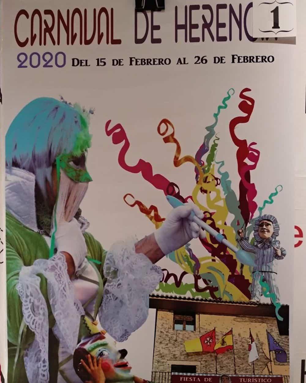 carteles carnaval 2020 herencia 6 - Conoce los carteles de Carnaval de Herencia 2020, ¿cuál te gusta más?