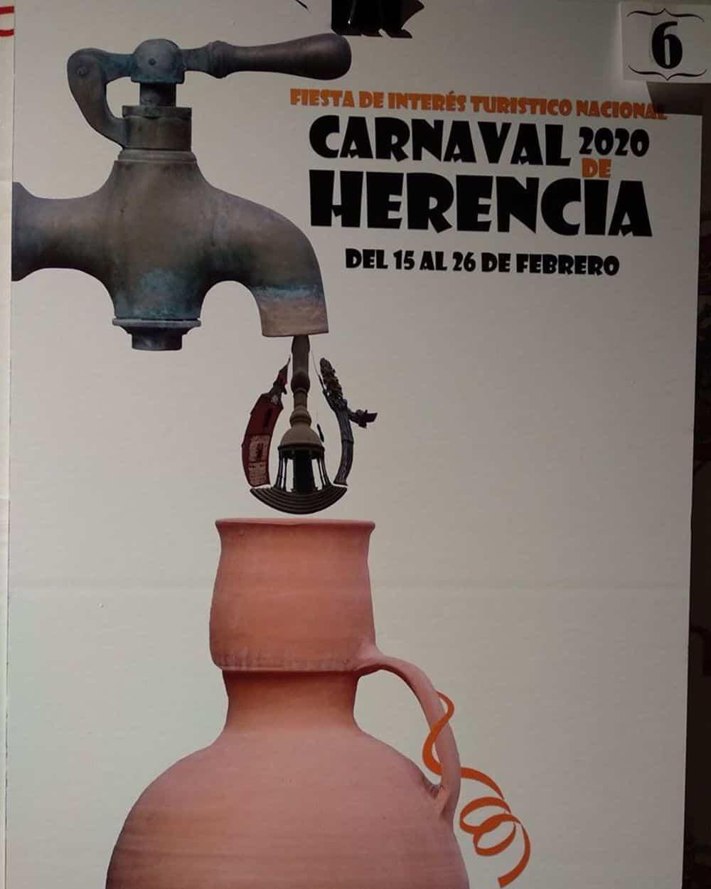 carteles carnaval 2020 herencia 7 - Conoce los carteles de Carnaval de Herencia 2020, ¿cuál te gusta más?
