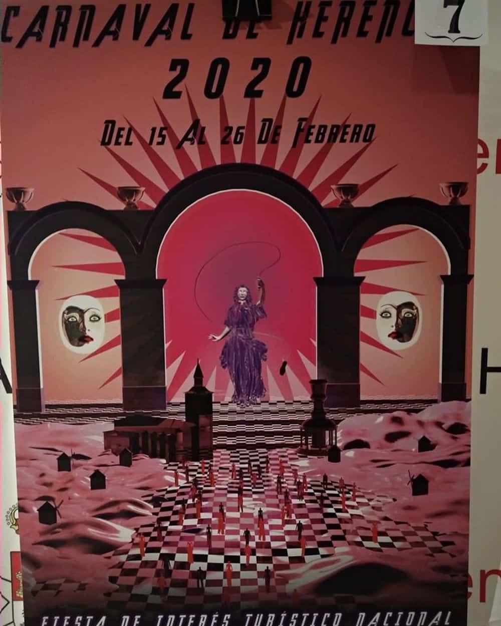carteles carnaval 2020 herencia 9 - Conoce los carteles de Carnaval de Herencia 2020, ¿cuál te gusta más?