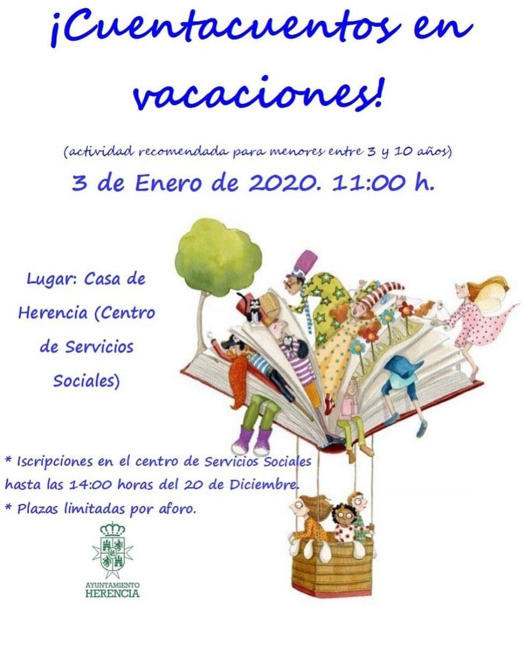 cuentacuentos vacaciones 2019 1068x1335 - Cuentacuentos en vacaciones de navidad en Herencia