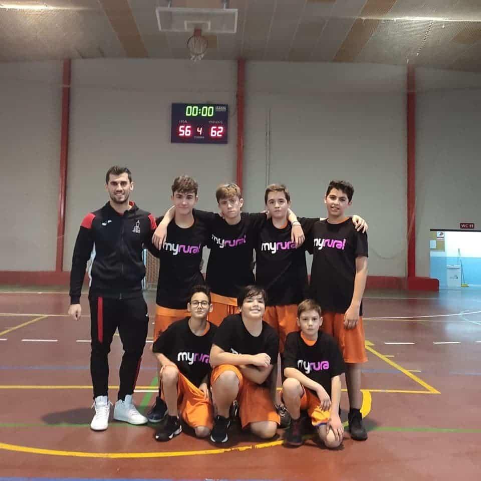 equipo infantil baloncesto herencia 2019 - Las Escuelas Deportivas de Herencia cuentan con 2 equipos de baloncesto por primera vez