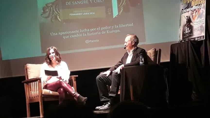 escritor jorge molist - Herencia presente en el II Encuentro Provincial de Clubes de Lectura en Membrilla