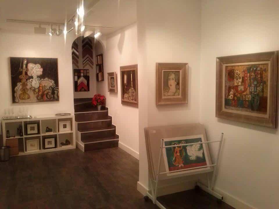 La galería de arte Marmurán de Alcázar expone obra de Agustín Úbeda 4