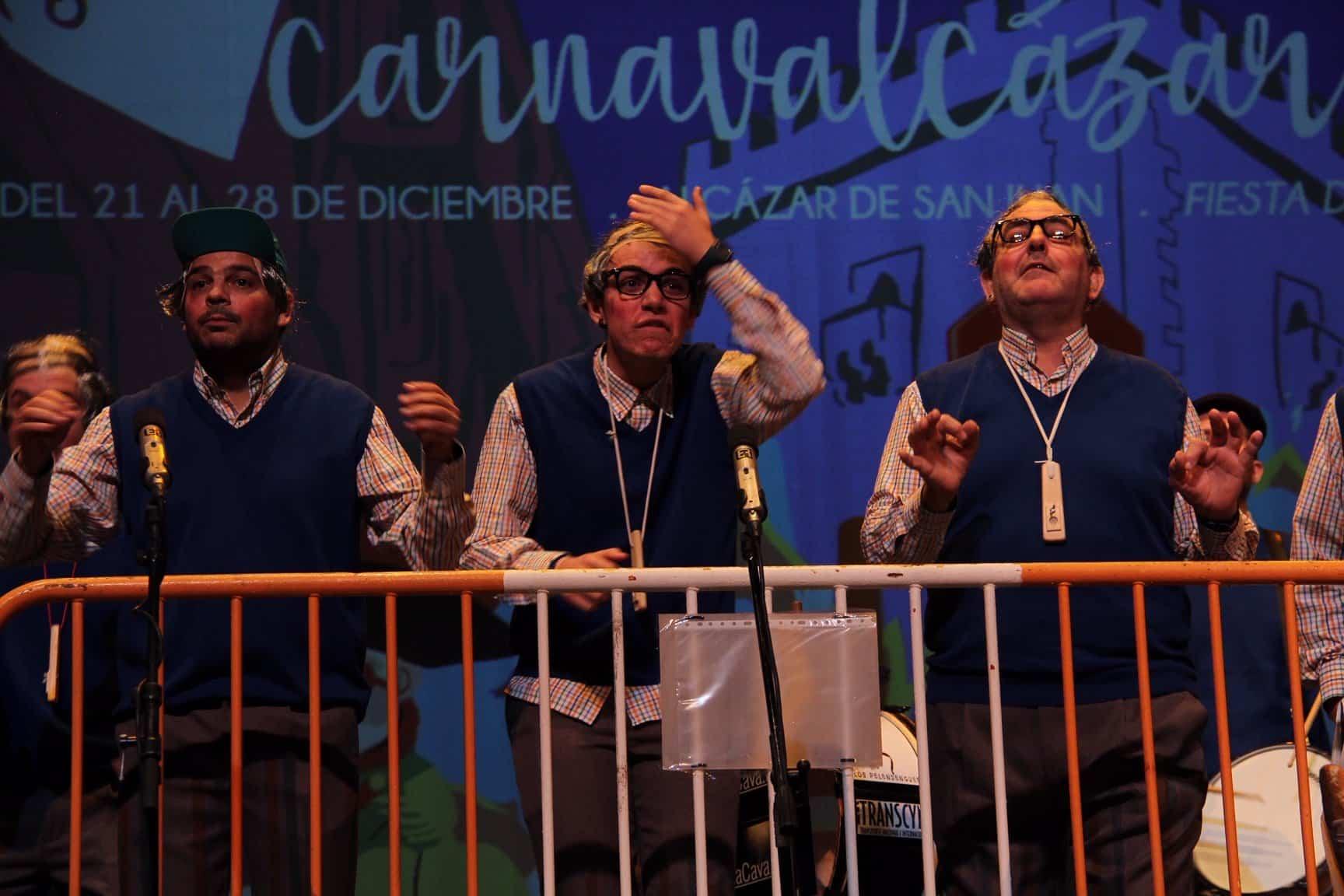 """""""Los Pelendegues"""" en la XXXIII edición del Festival de Murgas de Alcázar 5"""