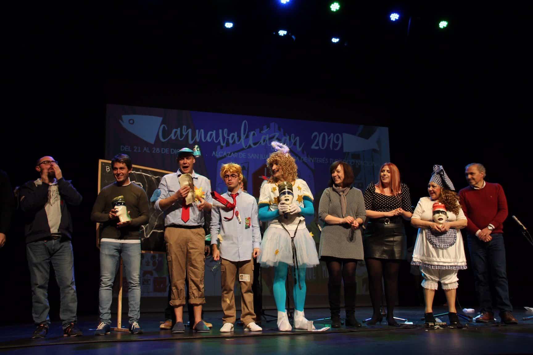 """festival murgas 2019 alcazar premios - """"Los Pelendegues"""" en la XXXIII edición del Festival de Murgas de Alcázar"""