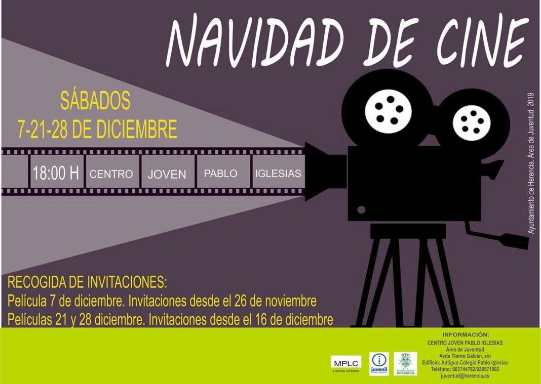 Tardes de cine en Herencia durante la navidad 2019 4