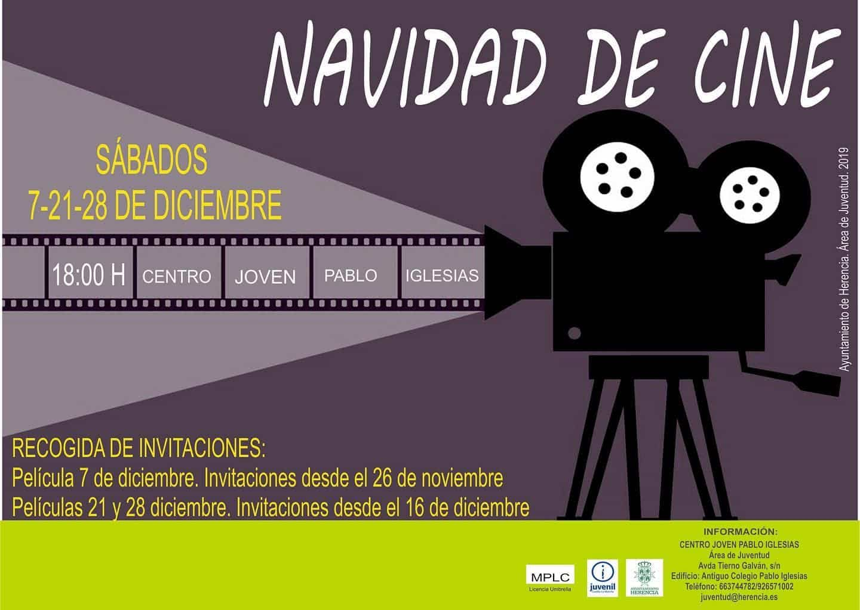 Tardes de cine en Herencia durante la navidad 2019 3
