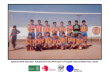 Fototeca abierta: Equipo de fútbol «Esperanza»