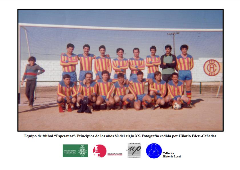 11 Foto Equipo de f%C3%BAtbol Esperanza principios a%C3%B1os 80 - Fototeca abierta: Equipo de fútbol «Esperanza»