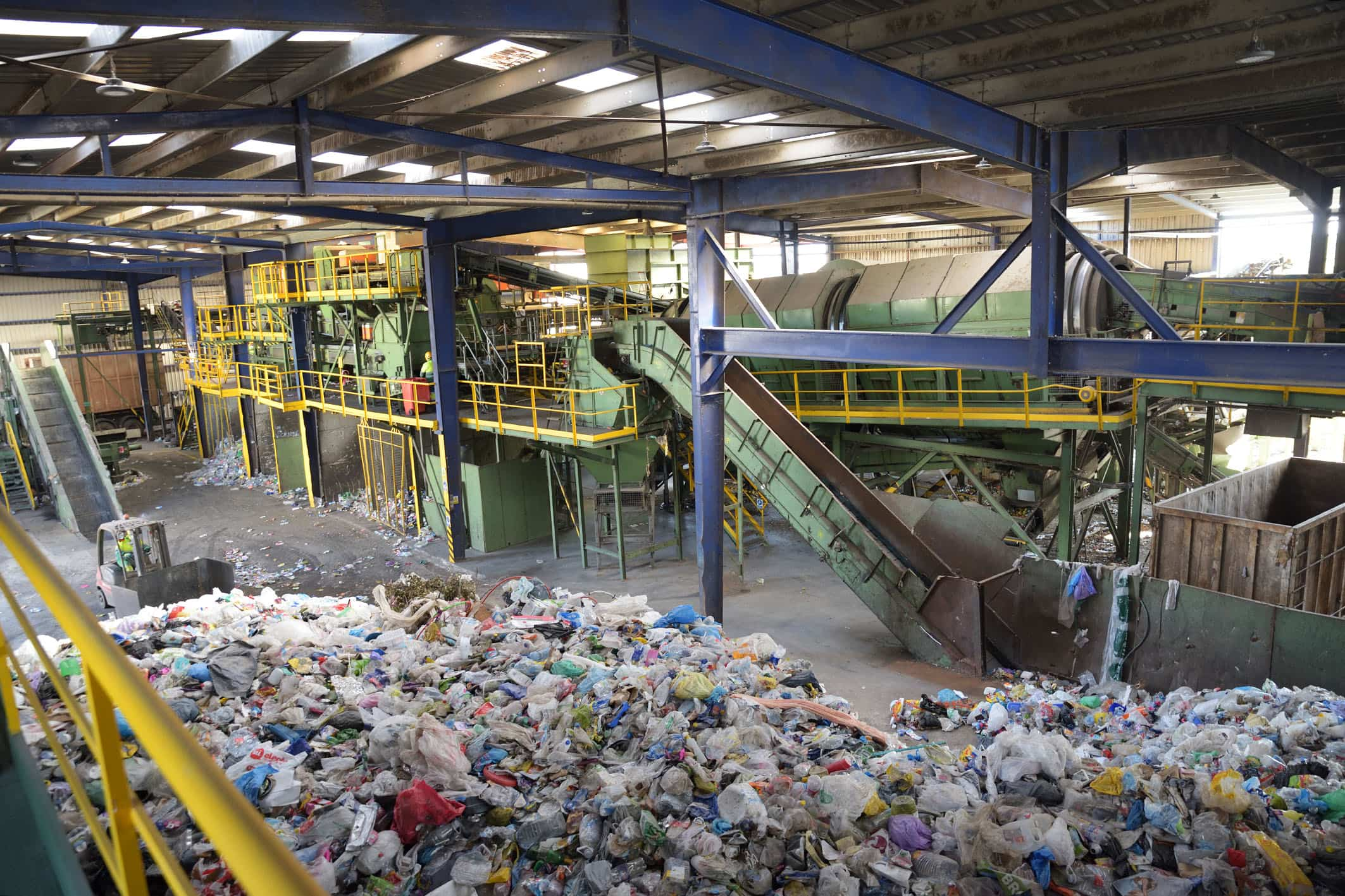 20200110 Planta RSU informe gestion02 Comsermancha - La planta de Comsermancha gestionó 71.952 toneladas de basura en 2019