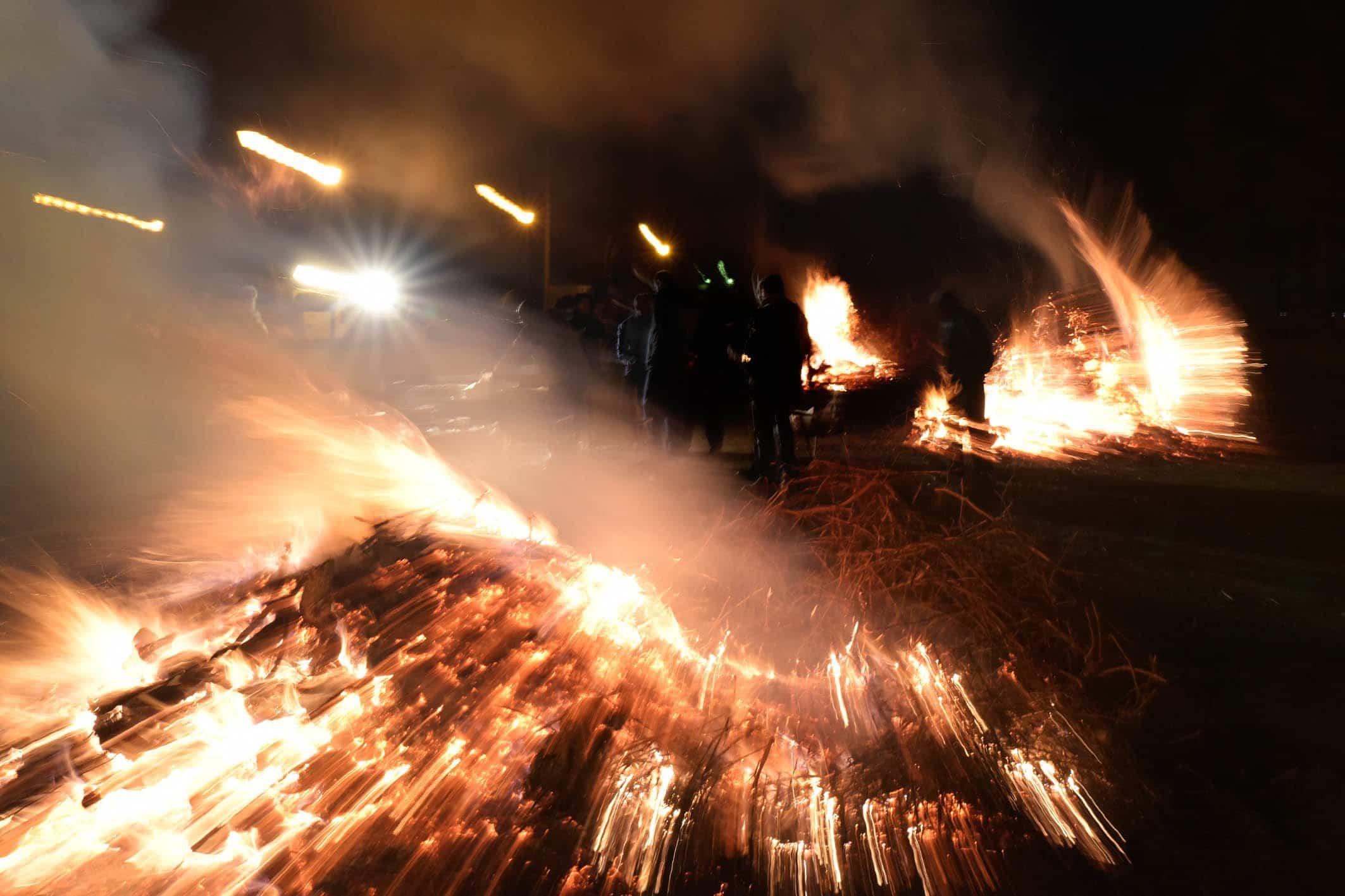 20200115 Precaucion lumbres y braseros Comsermancha - Comsermancha pide precaución al deshacerse de los restos de hogueras, braseros o estufas en los contenedores