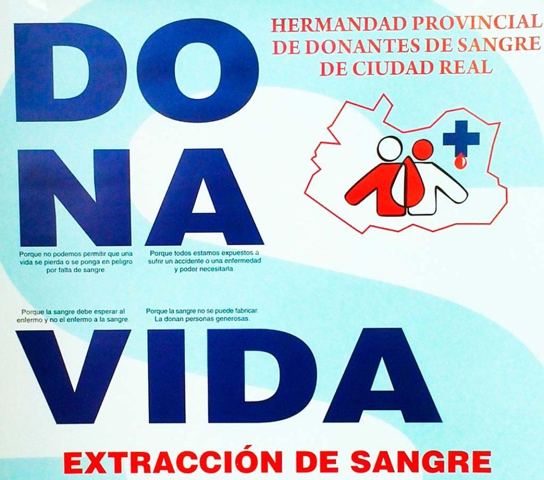 Durante los días 21 y 22 de enero se podrá donar sangre en Herencia 7
