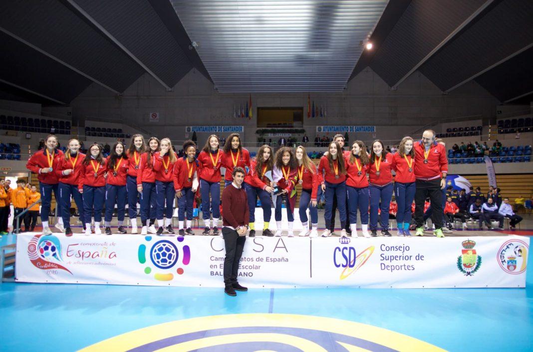 Herencia en el Campeonato de España de Balonmano Base 13