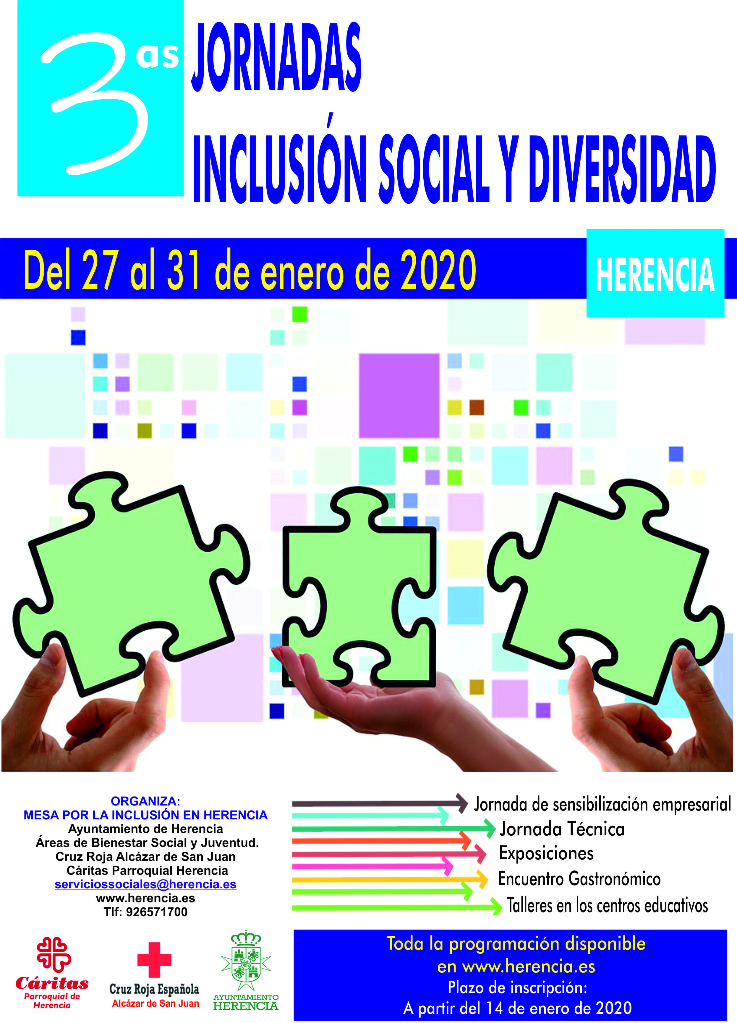 Herencia presenta las III Jornadas de Inclusión Social y Diversidad 7
