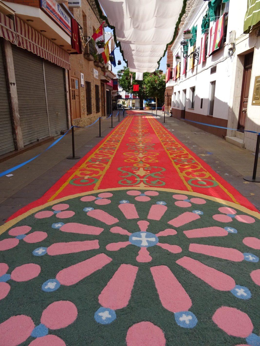 Herencia con la Comisión Gestora de Entidades Alfombristas del Camino de Santiago 5