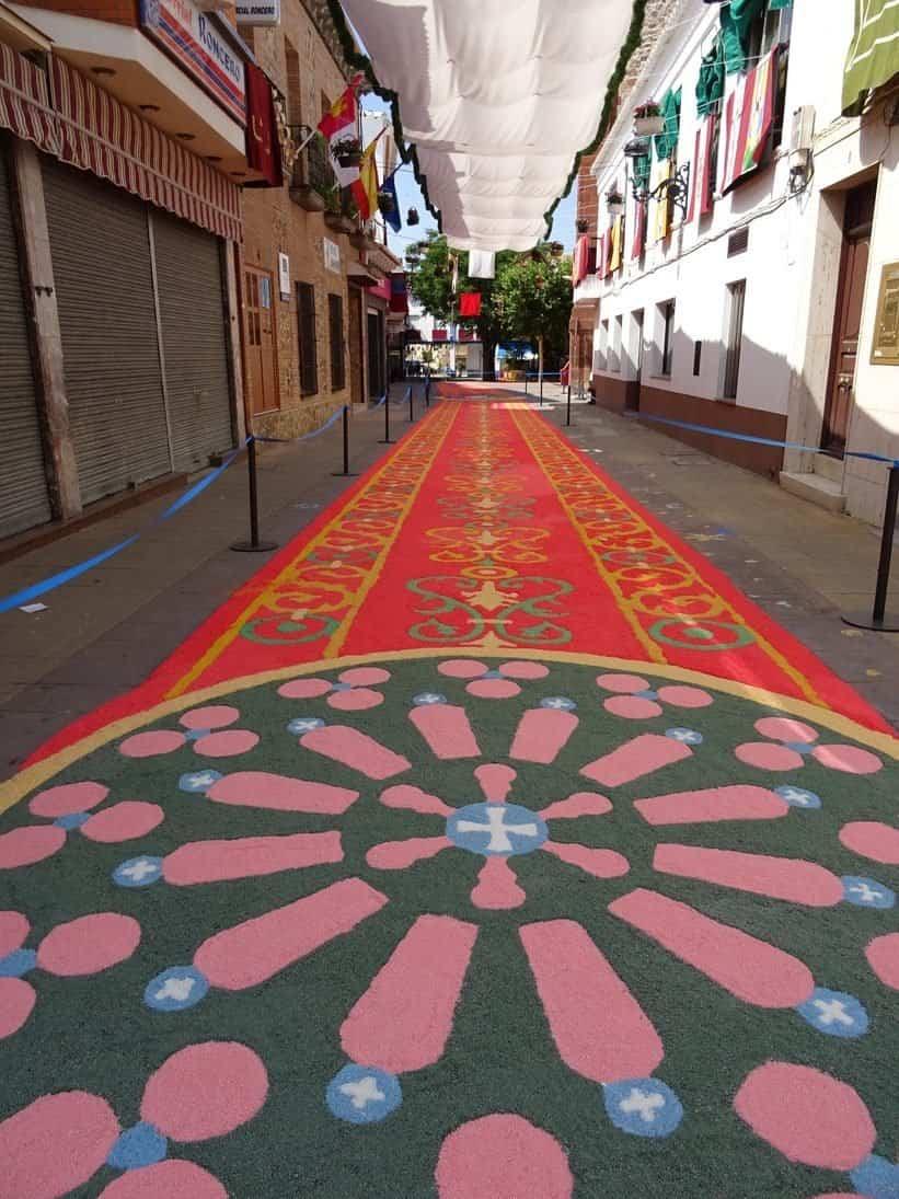 DSC05216 e1578736254274 - Herencia con la Comisión Gestora de Entidades Alfombristas del Camino de Santiago