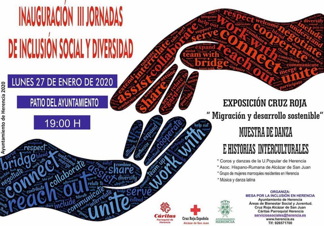 Inauguración jornadas de inclusión social1 1068x745 - Inauguración de las III Jornadas de inclusión social y diversidad