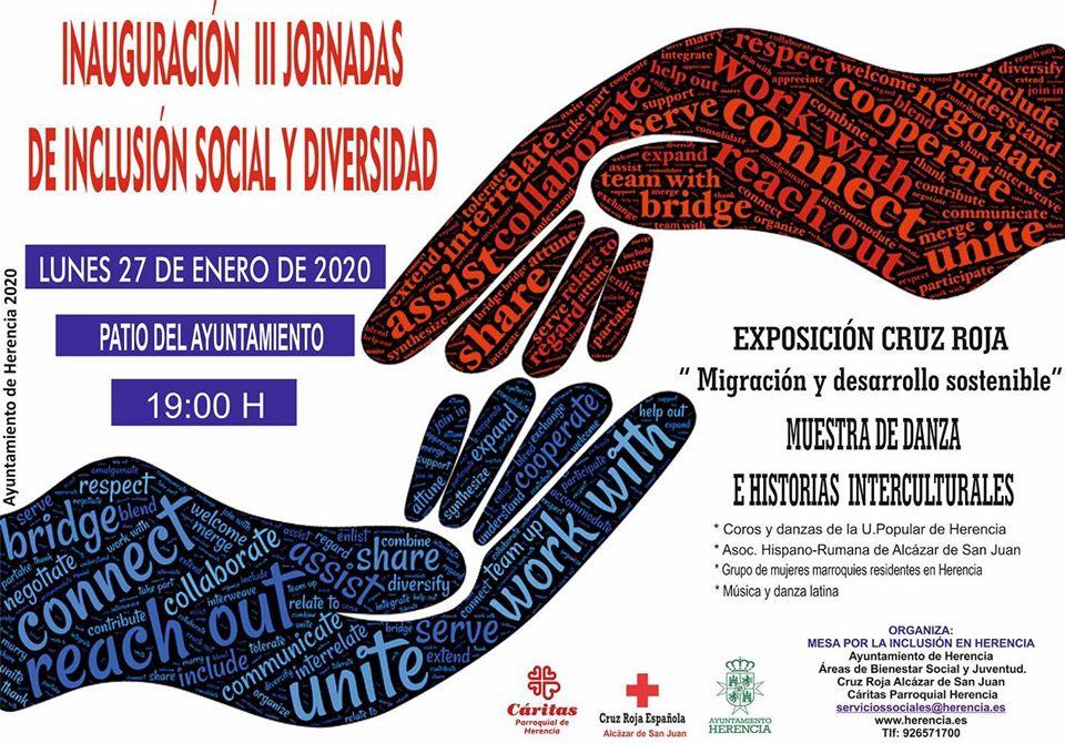 Inauguración jornadas de inclusión social1 - Inauguración de las III Jornadas de inclusión social y diversidad