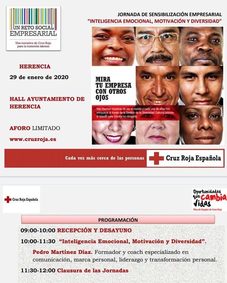Jornada de sensibilizaci%C3%B3n empresarial - Jornada de sensibilización empresarial en Herencia