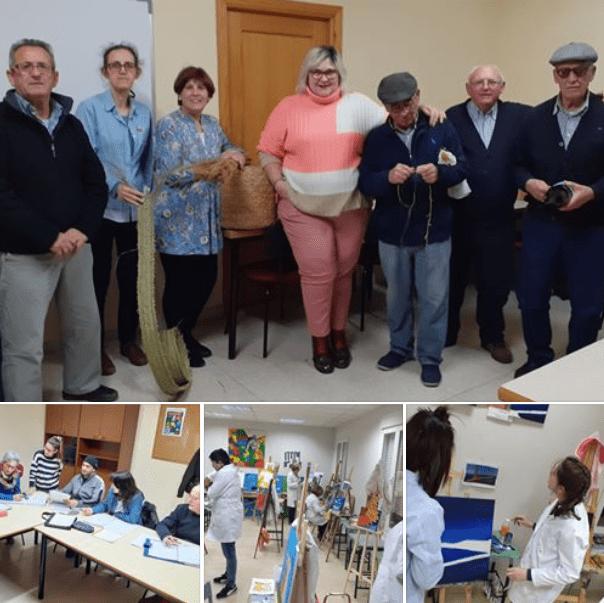 Talleres de la Universidad Popular de Herencia - La Universidad Popular de Herencia será protagonista en el programa Ancha es Castilla-La Mancha