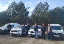 Cuatro nuevos vehículos mejoran el parque móvil del Ayuntamiento de Herencia