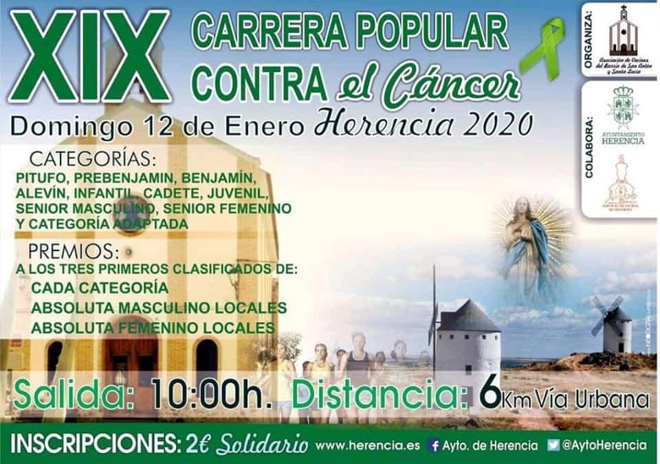 Celebrada la XIX Carrera Popular contra el cáncer en San Antón 11