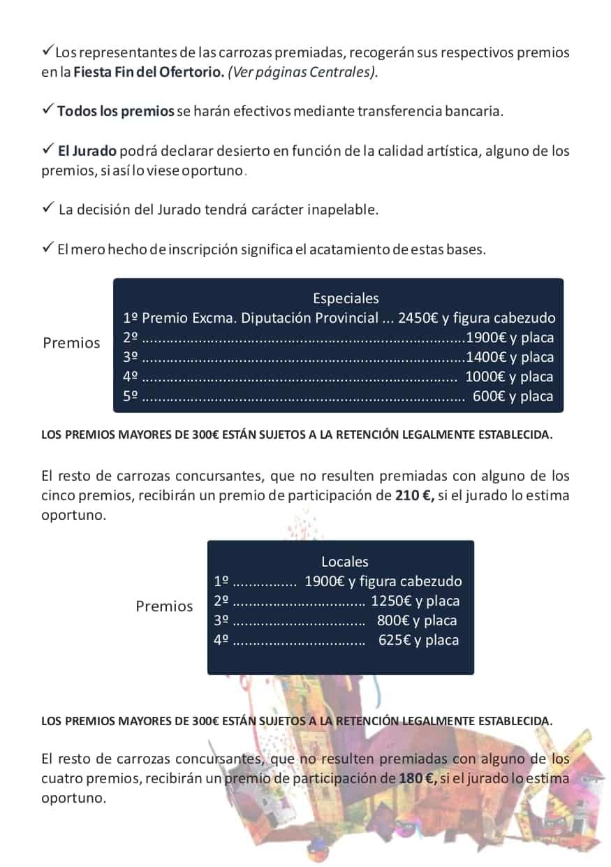 Publicadas las bases y premios de los concursos del Carnaval de Herencia 2020 14