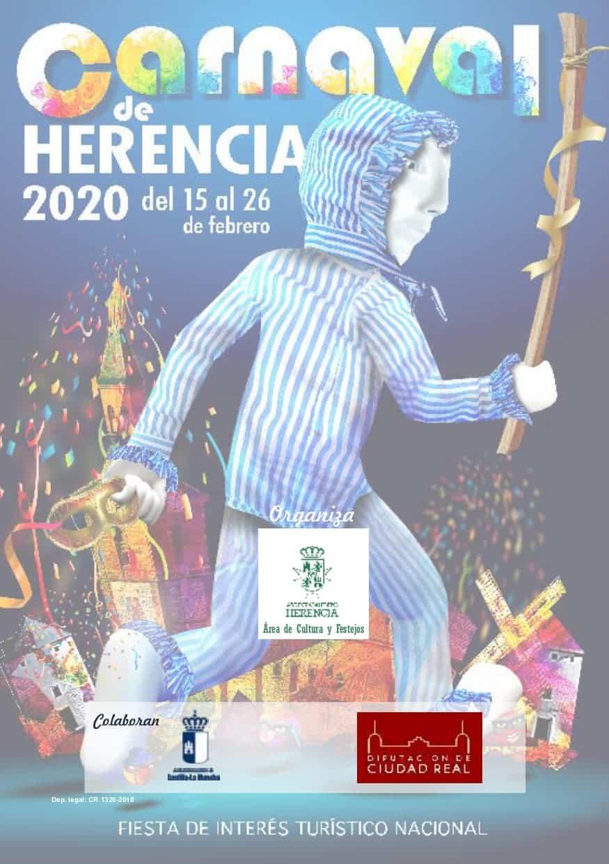 Publicadas las bases y premios de los concursos del Carnaval de Herencia 2020 18