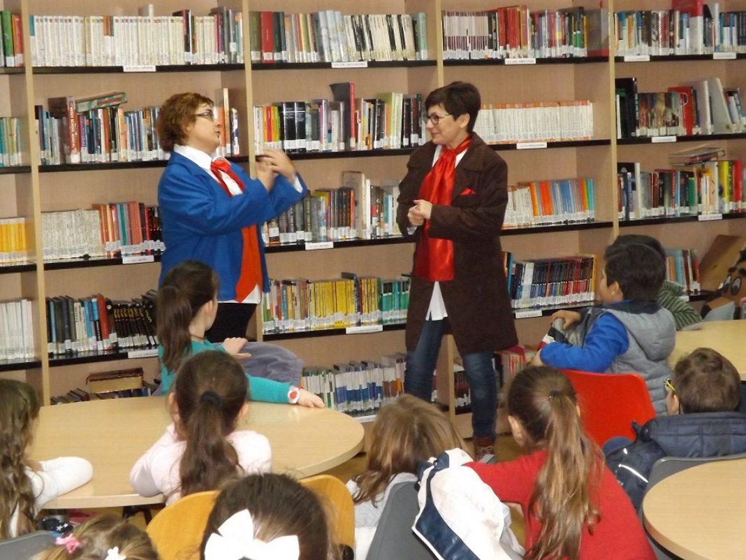 """biblioteca de Herencia cuentos 1068x801 - """"Cuentos con Objetivo"""" para conocer los Objetivos de Desarrollo Sostenible"""
