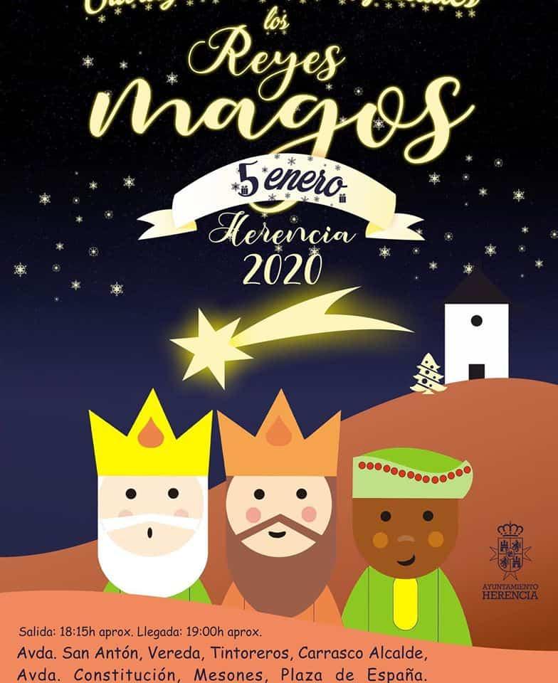 Los Reyes Magos ya están en Herencia listos para la Cabalgata de Reyes 3