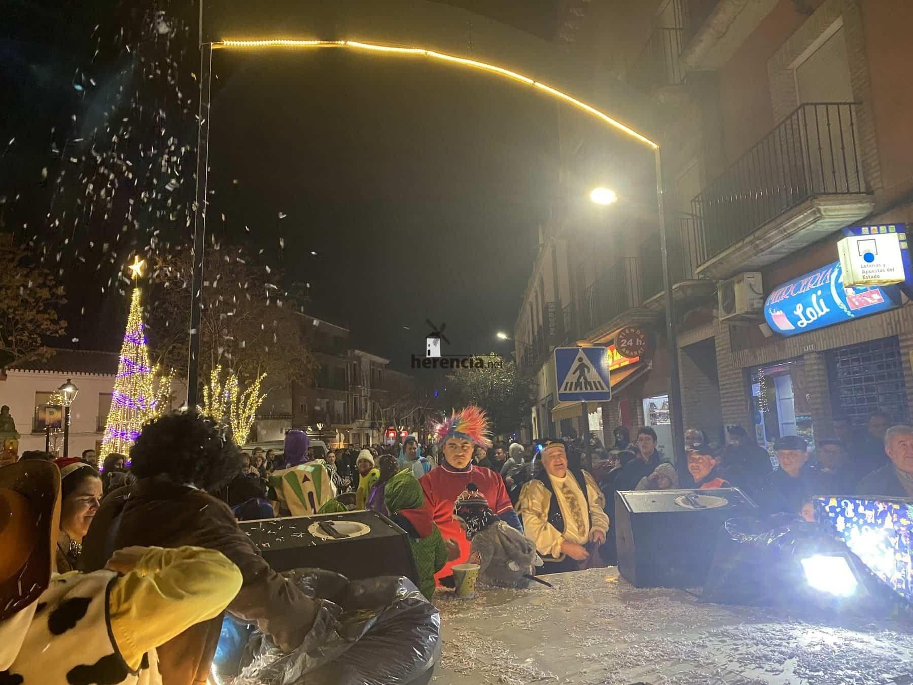 Galería de fotografías de Cabalgata de Reyes Magos de Herencia 48