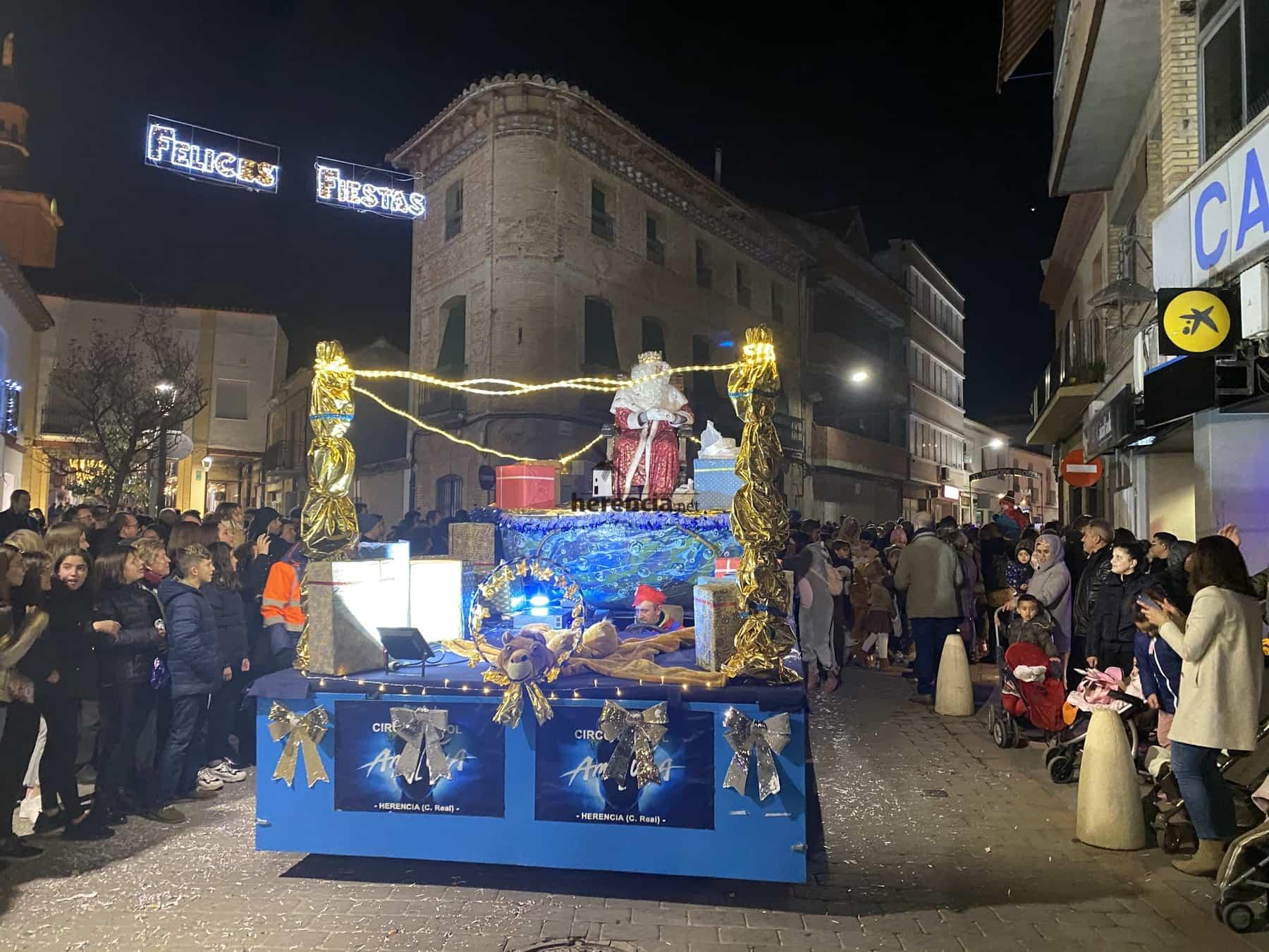 Galería de fotografías de Cabalgata de Reyes Magos de Herencia 52