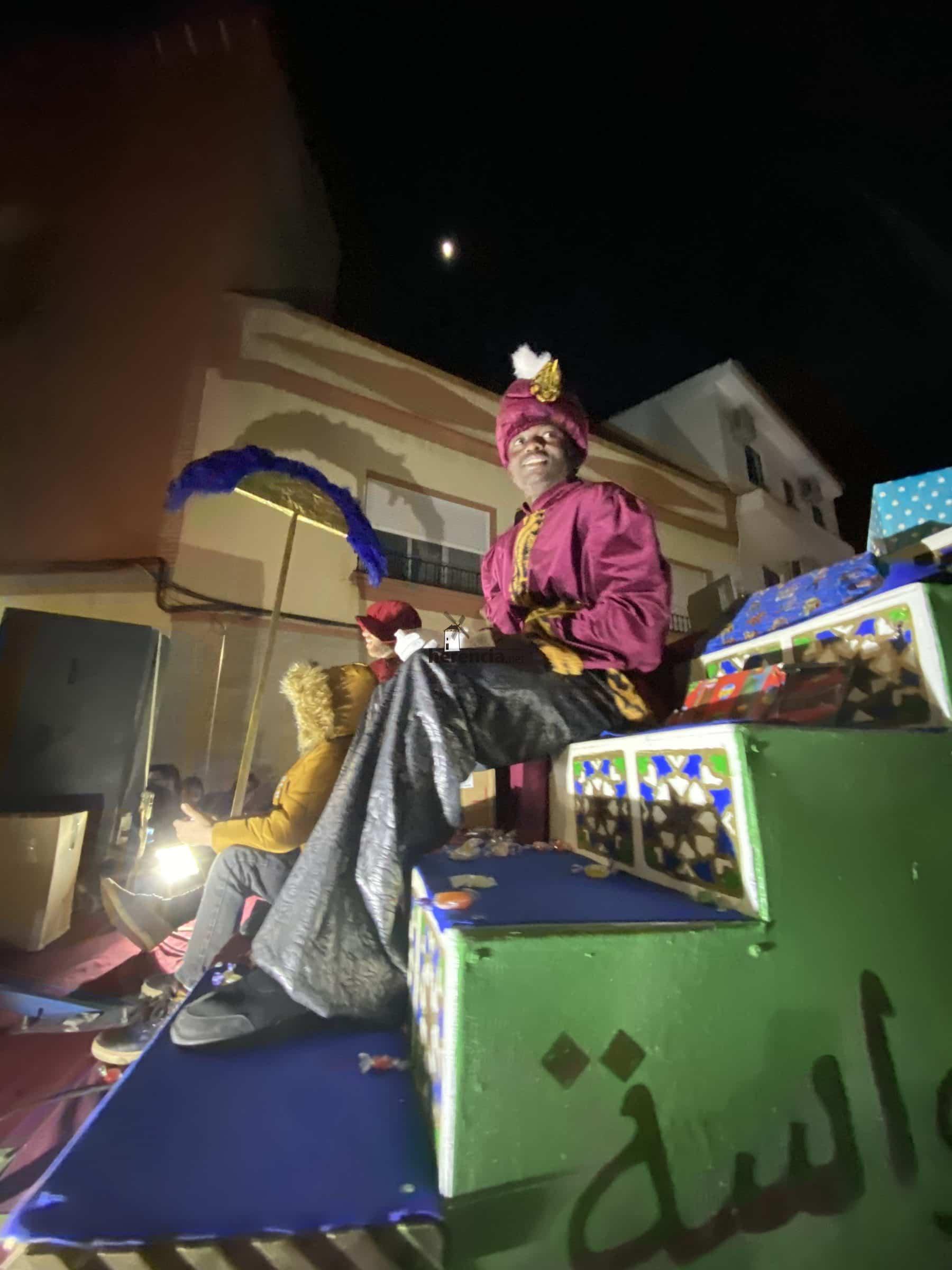 cabalgata reyes 2019 herencia 15 e1578264261499 - Galería de fotografías de Cabalgata de Reyes Magos de Herencia