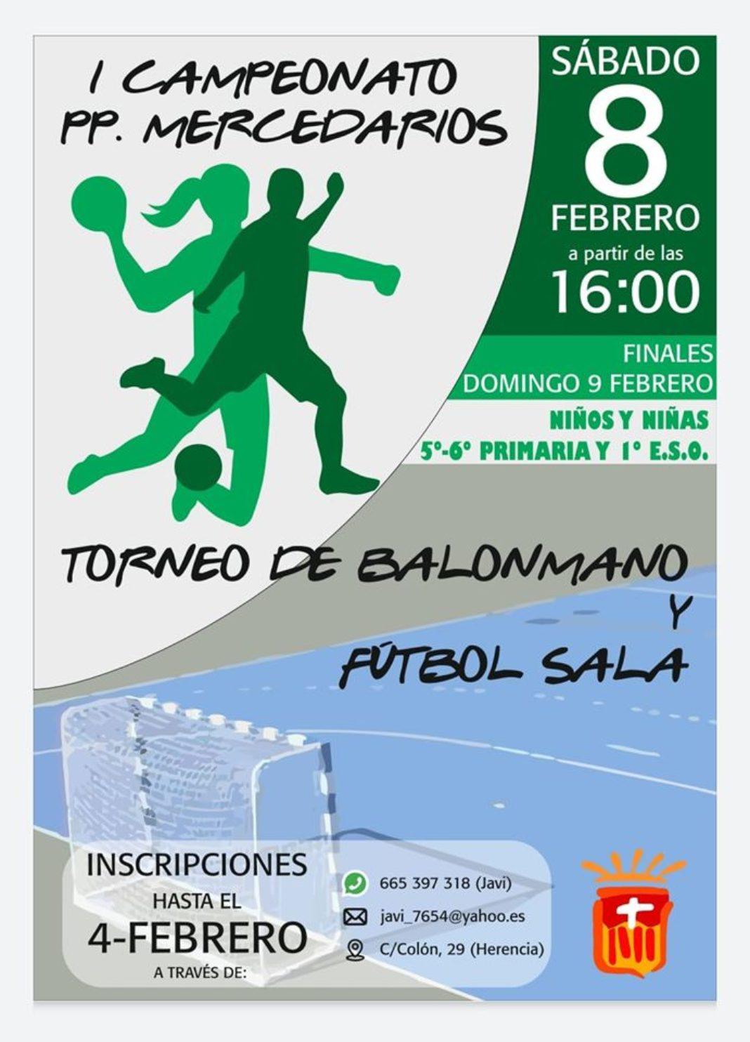 "campeonato padres mercedarios 2020 1068x1484 - Primer campeonato ""Padres Mercedarios"" de balonmano y fútbol sala"